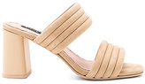 Alice + Olivia Colby Heel in Beige. - size 36 (also in 38)