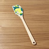 Crate & Barrel Lemon Tree Silicone Spatula