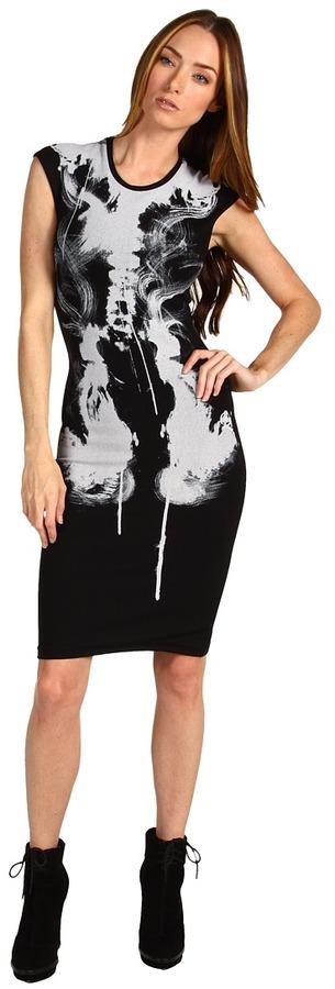 McQ X-Ray Dress (Black) - Apparel