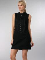 hayden-harnett Edie Bib Sheath Dress