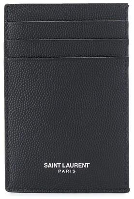 Saint Laurent Metal-Clip Cardholder