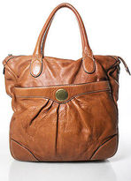 Marc by Marc Jacobs Brown Leather Zipper Closure Front Pocket Hobo Handbag