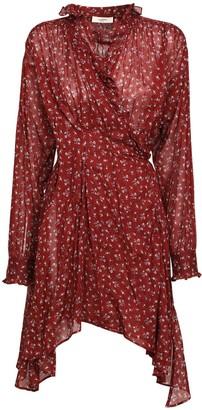Etoile Isabel Marant Pamela Cotton Voile Mini Dress