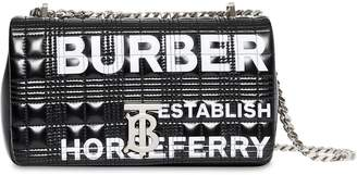 Burberry SM LOLA LOGO QUILTED LEATHER BAG