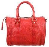Clare Vivier Textured Leather Satchel
