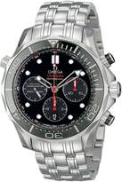 Omega 21230425001001 Men's Wrist Watches, Dial, Silver Band