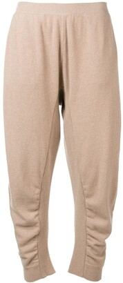 Stella McCartney Knit Balloon-Style Trousers