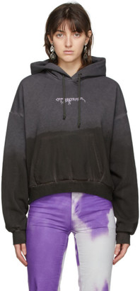 Ottolinger Dark Grey Garment-Dye Hoodie