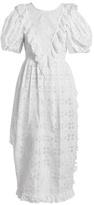 Simone Rocha Broderie-anglaise ruffled dress
