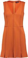 Just Cavalli Paneled stretch-knit mini dress