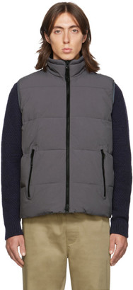 The Very Warm SSENSE Exclusive Grey Quilted Vest