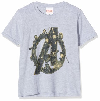 Marvel Girl's Infinity War Avengers Logo Hoodie