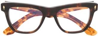 Jacques Marie Mage Havana square glasses