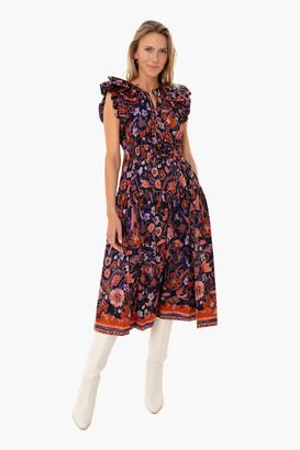 Ulla Johnson Midnight Floral Arina Dress