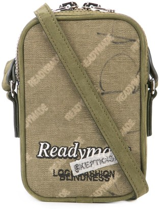 Readymade mini logo messenger pouch