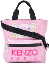Kenzo tiger embroidered tote