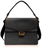 Coccinelle Women's Black Leather Shoulder Bag.