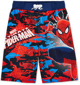 Asstd National Brand Marvel Spider-Man Swim Trunks - Preschool Boys 4-7