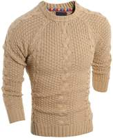 Partiss Men's Knited Slim Fit Casual Sweater