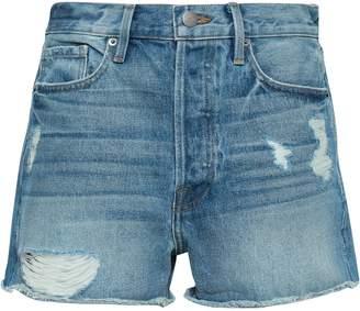 Frame Le Original Distressed Denim Shorts