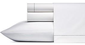 Vera Wang Solid Cotton Percale Sheet Set, Queen