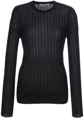 Gabriela Hearst long-sleeve fitted jumper
