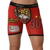 Ed Hardy Men's Tiger Vintage Boxer Brief - Black
