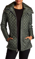Andrew Marc Emma Detachable Hood Quilted Jacket