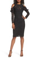 Cooper St Women's Ruffle Lace Sheath Dress