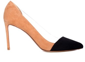 Francesco Russo Toe Cap PVC Pump