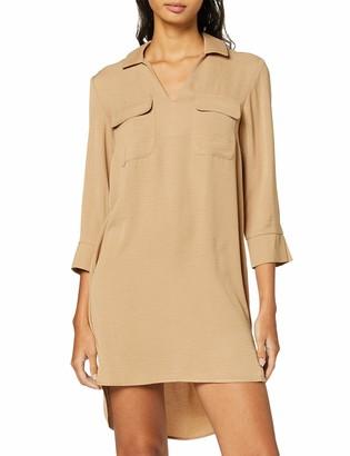 Pieces Women's Pcnelsa 3/4 Long Shirt If Dress
