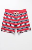 Modern Amusement Rigel Striped Boardshorts
