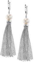 Effy Cultured Freshwater Pearl Tassel Drop Earrings in Sterling Silver (9-1/2mm)