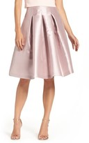 Eliza J Women's Release Pleat Full Skirt