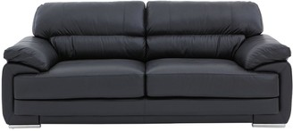 RosenLeather/Faux Leather 3 Seater Sofa
