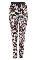 Select Fashion Fashion Womens Multi Bright Tropical Soft Trousers - size 10