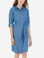 The Limited Denim Shirtdress