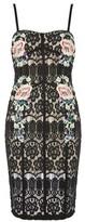 Rare **Black Multi Lace Dress
