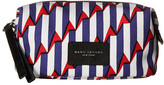 Marc Jacobs Arrow Head Printed Biker Cosmetics Landscape Pouch