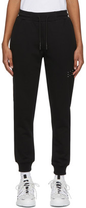 McQ Black Jack Branded Lounge Pants