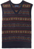 Polo Ralph Lauren Fair Isle Wool-Blend Jacquard Sweater Vest
