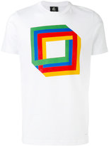 Paul Smith printed T-shirt - men - Organic Cotton - M