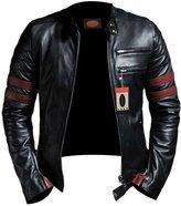 Laverapelle Men's Lambskin Real Leather Jacket - 1510535 - 2XL
