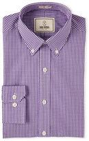Todd Snyder Purple Heather Check Dress Shirt