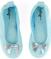 Sequin Bow Slippers
