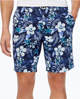Club Room Men's Paradise Floral Cotton Shorts, Only at Macy's