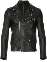 Kazuyuki Kumagai leather biker jacket