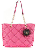 Betsey Johnson Cross Your Heart Tote