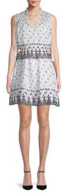 Derek Lam 10 Crosby 2-in-1 Sleeveless Cotton Dress & Top