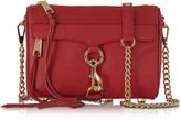 Rebecca Minkoff Mini Mac Deep Red Leather Crossbody Bag